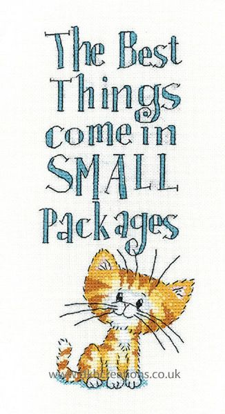 Small Packages Cross Stitch Kit